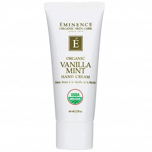 Eminence Vanilla Mint Hand Cream – 2.0 oz.