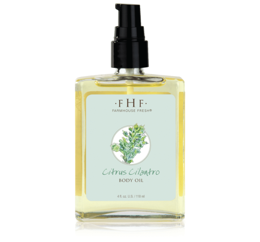 FarmHouse Fresh Citrus Cilantro Body Oil