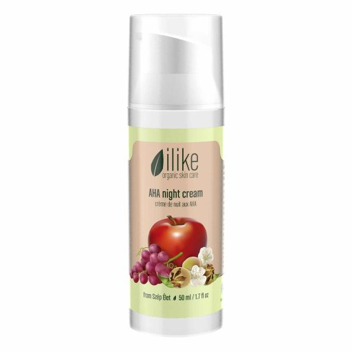 ilike organic skin care AHA Night Cream