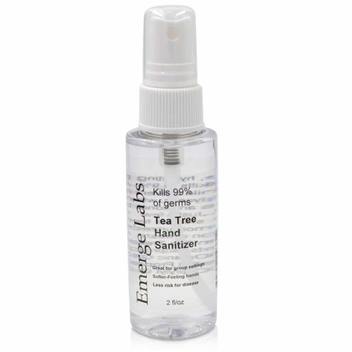 Hand Sanitizer With Tea Tree Oil and Organic Glycerin