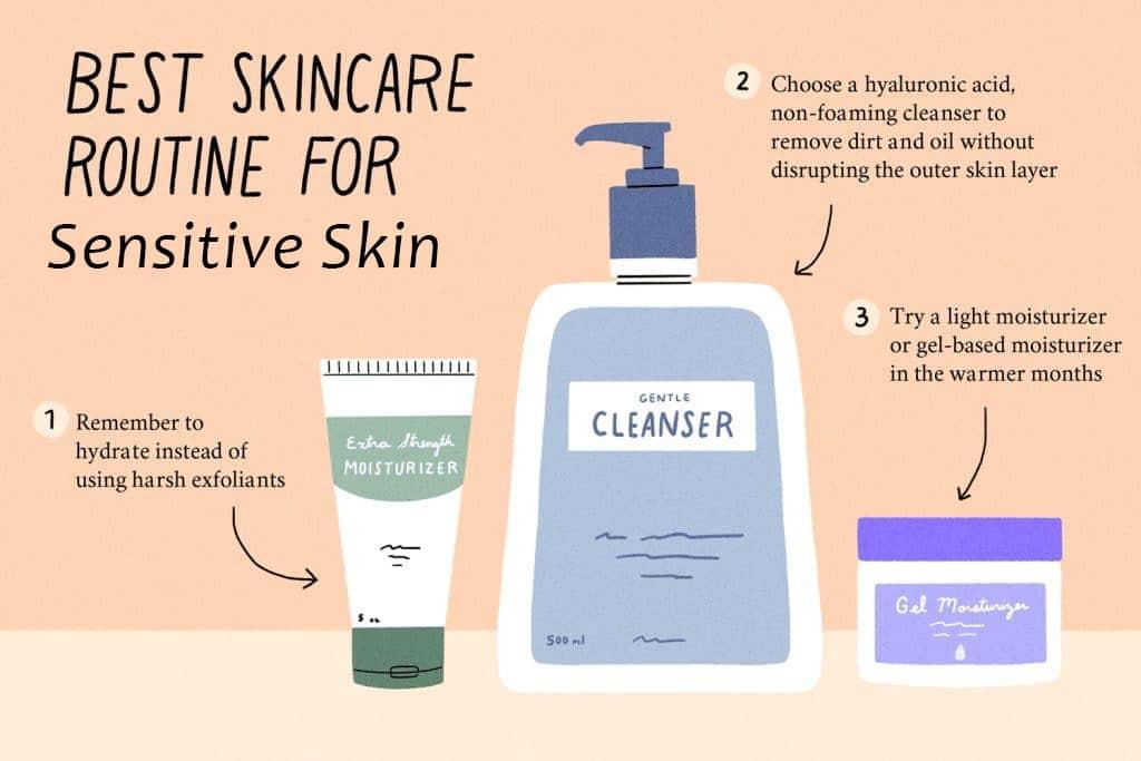 organic skin care for sensitive skin