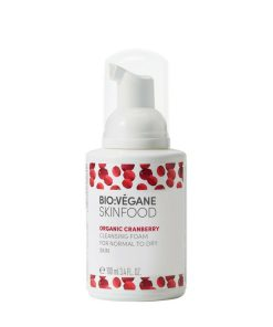BioVegane Cranberry Cleansing Foam