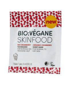 BioVegane Cranberry Sheet Mask