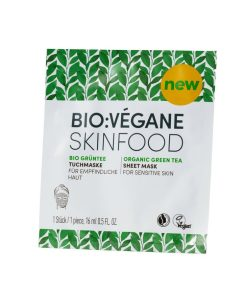 BioVegane Organic Green Tea Sheet Mask